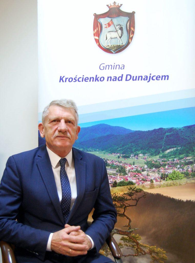 Jan Dyda - wójt gminy Krościenko nad Dunajcem
