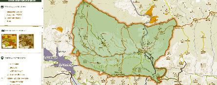 Informacja przestrzenna w Pieninach, Gorcach i Beskidzie