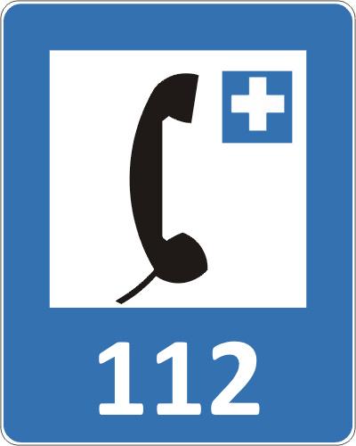 Telefony alarmowe: Policja, Pogotowie, Straż Pożarna w Pieninach