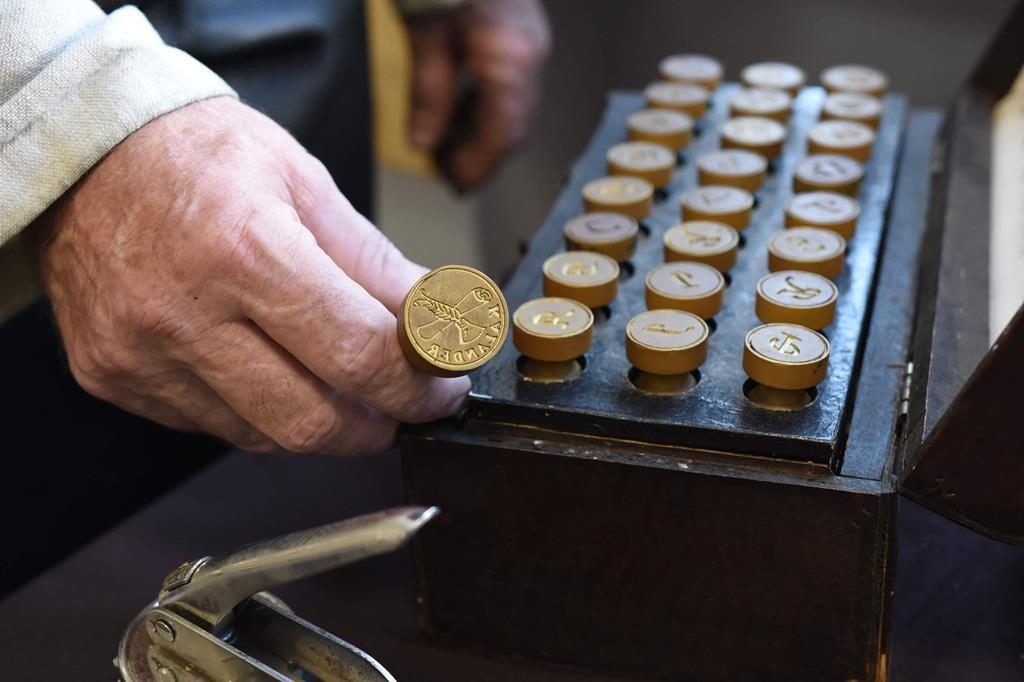 """Warsztaty drukarskie pod nazwą ,, Czasy erą Gutenberga zwane"""", w ramach ,,Odysei pienińskiej z baśnią  i legendą""""."""